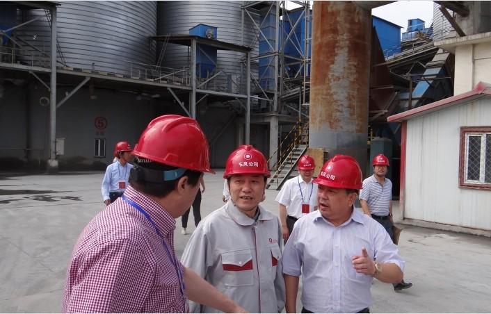 集团公司马建国副总经理检查北方水泥安全生产大检查工作