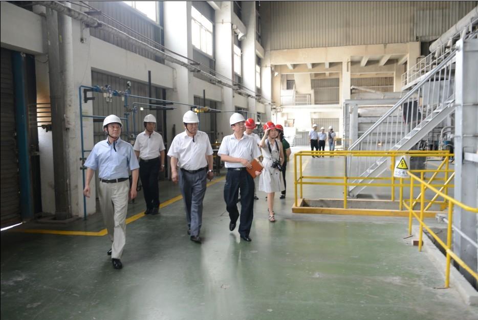国家安监总局检查蚌埠玻璃工业研究设计院安全生产大检查工作