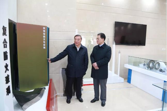 翁杰明到中国建材集团调研指导工作