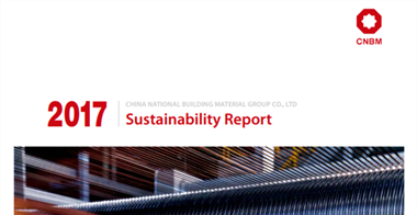 China National Materials Group Released the English Version of the 2017 Sustainability Report